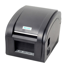 Cheaper Thermal barcode printer 80mm sticker printer machine usb label printer with big gear wheel 152mm/s xp-360b