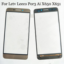 Letv Leeco Por3 Ai X650 X651 touch panel LCD Digitizer Por 3 Ai Touch Screen Glass touchpanel button flex cable