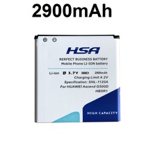 2900mAh HB5R1 Battery Use for Huawei Ascend G500D G600 201HW Panama U8520 U8832 U8832D U8836D U8950 U8950D