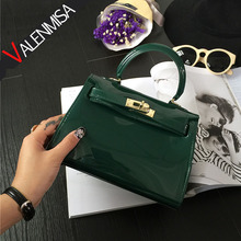 VALENMISA Small Platinum Jelly Bags 2017 Designer Handbags High Quality Pu Leather Women Shoulder Bags Candy Color Crossbody Bag