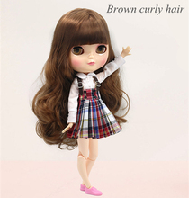 Free shipping Icy doll including shoes and clothes long hair 30cm like factory blyth  toy doll doll joint body joint doll