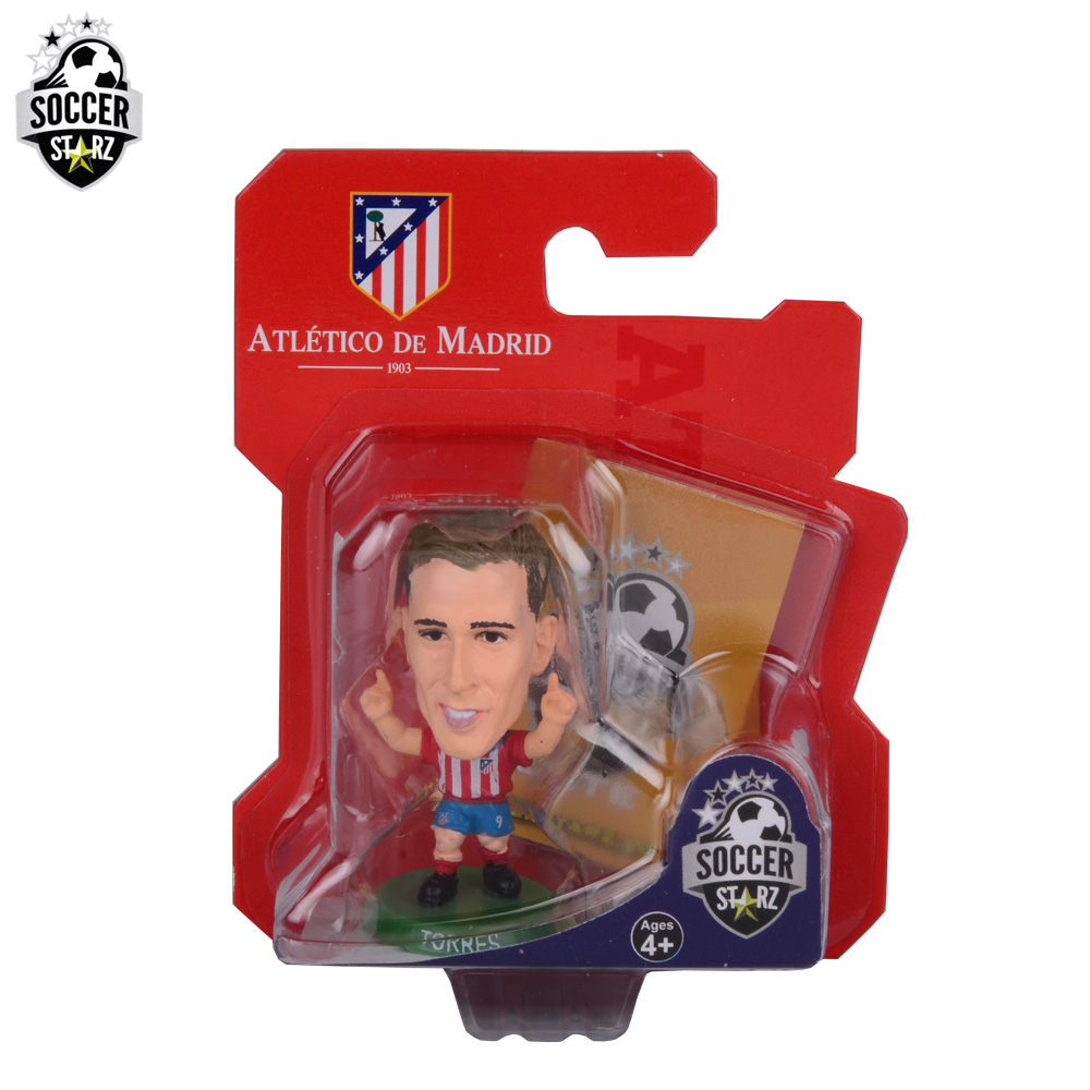 Soccerstarz Hand-painted 5cm Madrid Fernando Torres (Classic) /Figures Fashion football star doll value for Collection<br><br>Aliexpress