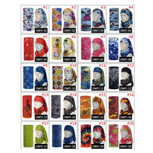 Hot Sale Sport Kerchief Riding Bicycle Motorcycle Bandanas Hood Magic Headband Veil Multi Function Ski Head Scarf  JL