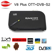 1080P DVB-S2 HD Digital Satellite Tv Receivers Recorder decoder smart Android tv Box Media Player Wifi TV decoder(China)