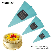 WALFOS Food Grade Reusable Confectioner Piping Cream Pastry Bag Decoration Cakes Tool Bakery Dessert Baking Decoration Bag