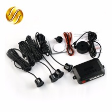4 Sensors Buzzer 22mm Car Parking Sensor Kit Reverse Backup Radar Sound Alert Indicator Probe System 12V 8 Colors(China)