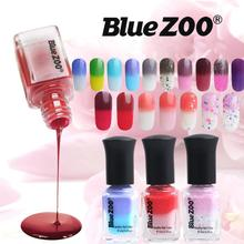 Blue ZOO6 ML Nail Polish Temperature Chameleon Thermal Change Color Soak Off Nail UV LED Polish Gel 5JY12(China)