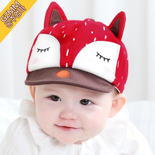 2016 Summer Sun Hat for Baby Girl Newborn Photography Props Hats for Boys Accessories Kids Bonnet Photo Props Caps Baseball Cap(China)