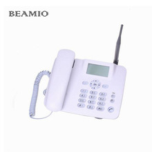 GSM 850/900/1800/1900MHz Fixed Wireless Telephone With FM Support Speed Dial Wireless Telephone Cordless Telephone For Home(China)