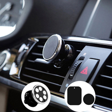 Real 6 magnets car magnetic phone holder for Iphone Holder Samsung Stand Display Support GPS Magnet Mobile iPhone standers(China)