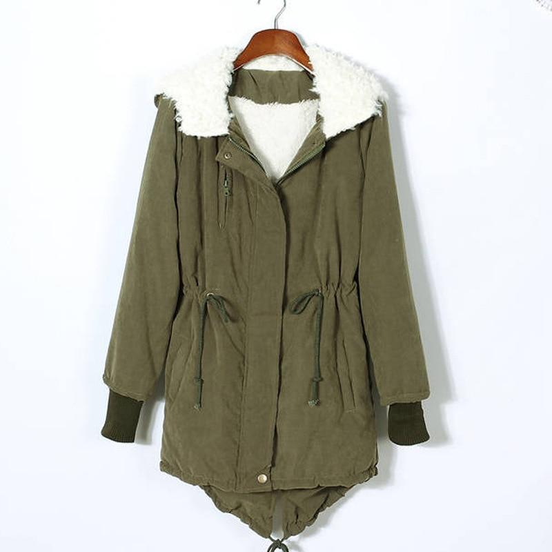 2017 Autumn Winter Jacket Coat Women Long Sleeve Hooded Zipper Pockets Thick Warm Plus Size 5XL Parka Hot Sale Winter Coats Îäåæäà è àêñåññóàðû<br><br>