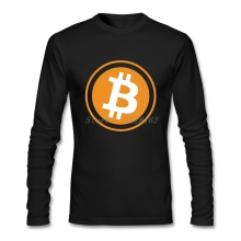 Buy Bitcoin T-Shirts Men 2018 Trendy Style Business Shirts Funky Art Round Neck t shirt Camiseta for $16.43 in AliExpress store