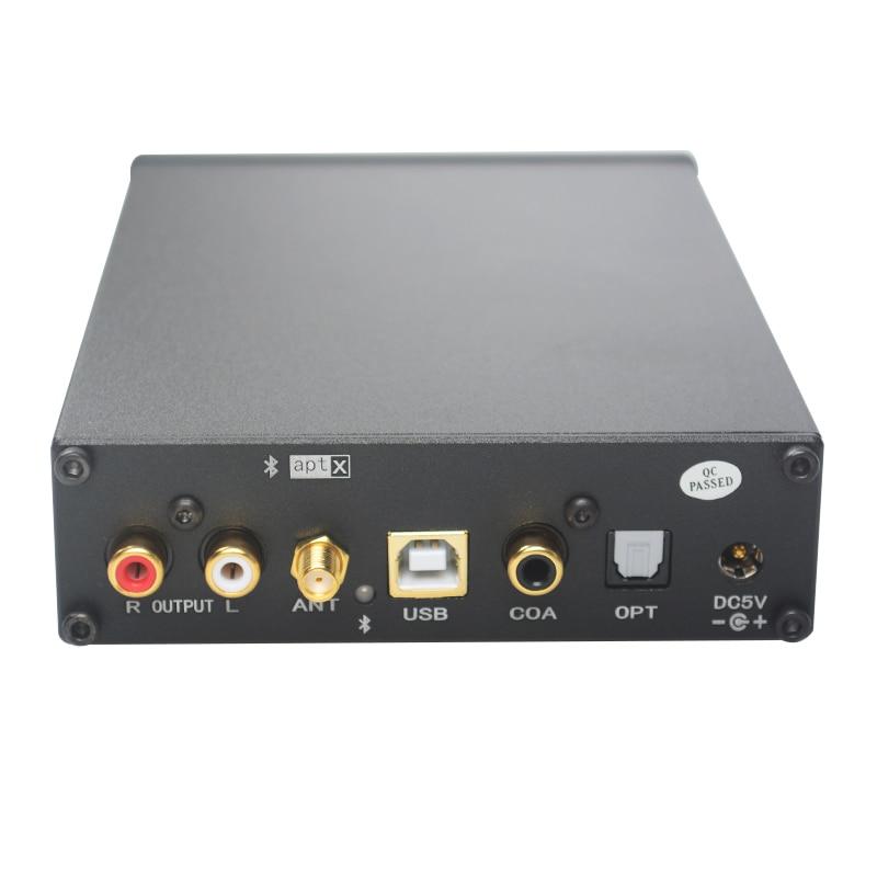 JIE CHUANG JC-AUDIO JC-SQ3 Bluetooth CSR8670 USB DAC AK4490 AUDIO Decoder Headphone Amplifiers TPA6120 APTX-HD