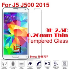 2.5D 0.26mm 9H Phone Front Tempered Temper Glass Verre Cristal For Samsung Sumsang Samsug Sumsung Galaxy Galaxi J5 J500 2015