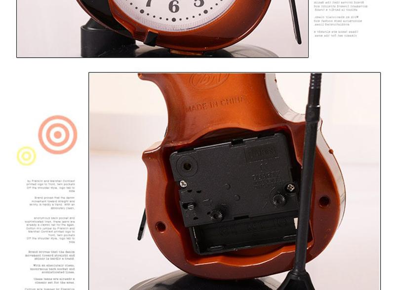 car digital clock lit parapluie pendulum of clock small desk clock clock for desk islamic wall clock retro wall clock mechanical table clocks table date (18)