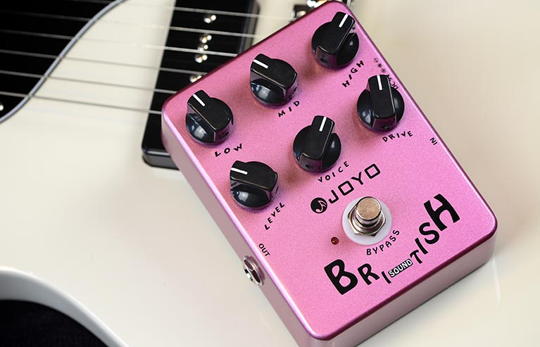 Joyo JF-16 British Sound Guitar Effect Pedal with Free Pedal Case<br>