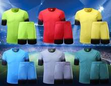 breathable fast drying polyester fabric adult/Children football training suit, badminton Jersey table tennis soccer yoga shirt(China)