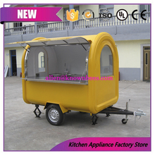 food cart kitchen mobile food cart with big whee hamburger fast food restaurant