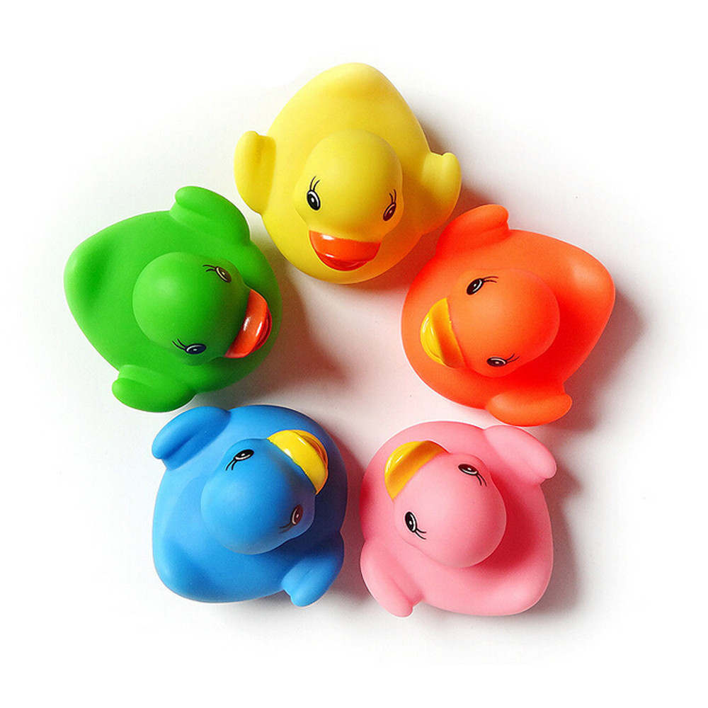 Rubber ducky bathroom accessories