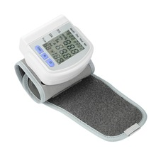Automatic Digital Wrist Cuff Blood Pressure Monitor Arm Meter Pulse Sphygmomanometer Heart Beat Meter LCD Display New(China)