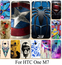 TAOYUNXI Mobile Phone Cover Case for HTC ONE M7 801E 801S Single Sim 801 4.7 inch Silicone Case TPU Plastic Cover Coque Housing