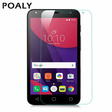 high quality Tempered Glass screen protector Protective Lcd Film Guard For Alcatel One Touch Pixi 4 5.0 pixi4 5 3G 5010 5010D