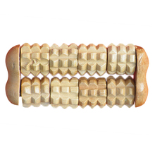 2 Raw Wooden Massage Therapy Body Relaxation Wood Roller Hand Held Massager Stress Relief Health Relax(China)