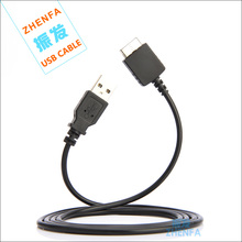 Zhenfa Data Sync/Charger USB Cable Cord For Sony Walkman MP3 MP4 Player NWZ-A808 A810 A826 A828 A844 A845 A846 A847 A805 A806