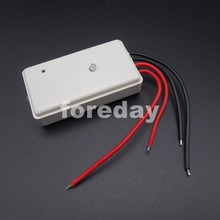 NEW  Voice-Light Control Switch Module Version A-White DC5V-18V Controller Day Off Night Work Solar Light Sunset Twilight *FD461