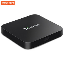Hot TX5 Pro Quad Core Amlogic S905X Android 6.0 Set Top TV Box 2G/16G Smart TV Portugal Russian Hebrew IPTV Europe Media Player(China)