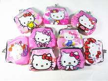 Hello Kitty Coin Purse Cartoon Children's Wallet Cute Bags For Girls Small Small Women's Purses And Wallets