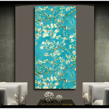 HDARTISAN Blossoming Almond Print Wall Art Decor Oil Painting on Canvas Wall Painting Picture for Living Room Posters Prints