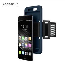 Cadearlun for Oneplus5 Waterproof Sport Arm Band Leather Case or OnePlus 5 A5000 Deportivo Sport Runing Arm Bag(China)