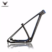 Buy THRUST 27er/29er Full Carbon T800 Thru Axle Mountain Frame 142*12/135*9 Free MTB carbon frame 29er for $278.00 in AliExpress store