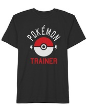 2017 Rushed Direct Selling Fashion Pokemon Trainer	8-shirts Custom Design Shirts O-neck Men Short Sleeve Best Friend Trainer