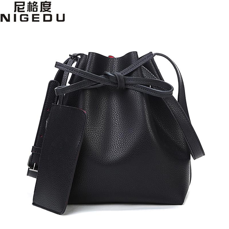 2016 New fashion tassel bucket bag PU leather crossbody bags for women messenger bags Ladies Handbags bolsa franja Free shipping<br><br>Aliexpress