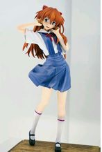 Asuka Langley Soryu School uniform sega sexy figure EVA toy 20cm(China)