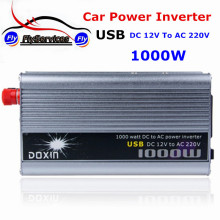 HOT SALE DOXIN USB Charger Adapter 1000W Car Power Inverter DC 12V To AC 220V Fast Shipping