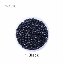 1000pcs 2.5mm copper nano ring beads for nano rings hair extensions 1# black color(China)