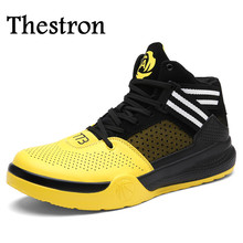 Thestron 2017 New Cool Mens Basketball Sport Shoes High Top Women Basketball Shoes Quality Men And Women Sneakers For Basketball