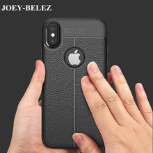 JOEY-BELEZ Phone Cases For iPhone X Case New Luxury Ultra-Thin Soft TPU Leather Design Cases For iPhone 6 7 Case 6 7 Plus 6splus(China)
