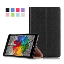 "PU Leather Stand Cover Case for LG G Pad X 8.0 (Gpad 3 8.0) V525 V521WG V521 8"" Tablet + 2Pcs Screen Protector"