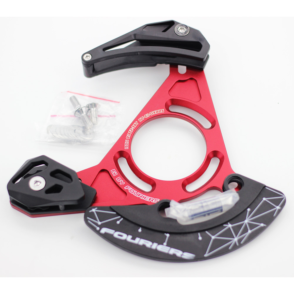 Enduro DH FR MTB Chain Guide Chain Bashguard Device Catcher Keeper 32T-38T Single Speed ISCG ISCG05 BB<br><br>Aliexpress