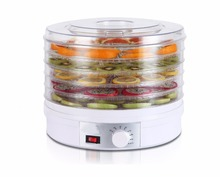 EU/UK/AU Plug Food Dehydrator Fruit Vegetable Herb Meat Drying Machine Snacks Food Dryer Fruit dehydrator with 5 trays(China)