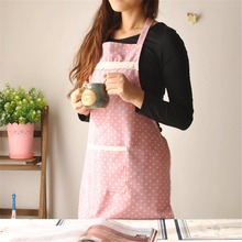 2017 New hot fashion multi-coloured women lady Chefs Kitchen Cooking Apron Coverall Tablier Pinafore antifouling Oil proof
