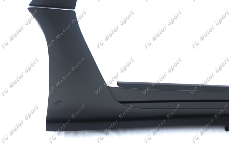 2011-2013 Infiniti M Series Sedan Nissan Fuga Y51 Wald Sports Line Black Bison Edition Style Side Skirt FRP (5)