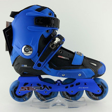 SEBA High Light Adult Inline Slalom Skates Roller Skating Shoe Red Blue High Quality Slalom roller shoes