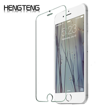 0.3mm Ultra Thin Tempered Glass Mobile Cell Phone Screen Protector film for iphone 4 4S 5 5S SE 6 6S 7 plus Screen Protector(China)