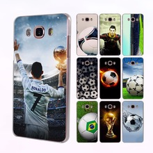 Ronaldo football player Soccer Ball Style transparent clear Case for Samsung Galaxy J3 2016 J5 2017 J7 Prime J1 J510 J710