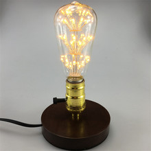 Retro Classic E27 3W LED Edison bulb ST64 AC85-265V Vintage Antique Lamp for Coffee Bar Restaurant Clothes shop Home Decoration(China)